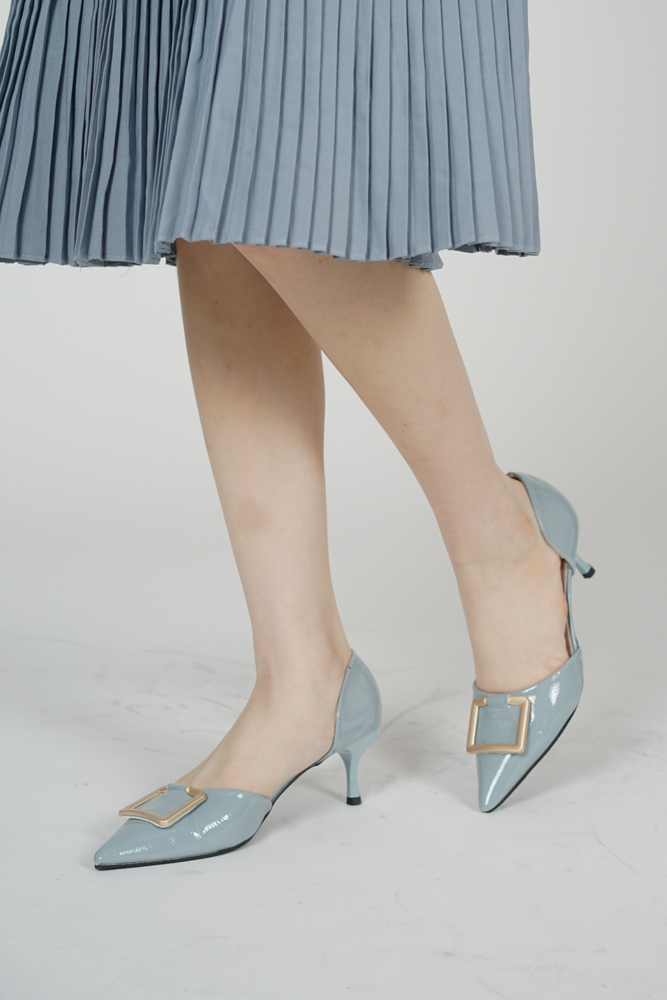 Jeyn Pointed Heels in Ash Blue - Arriving Soon
