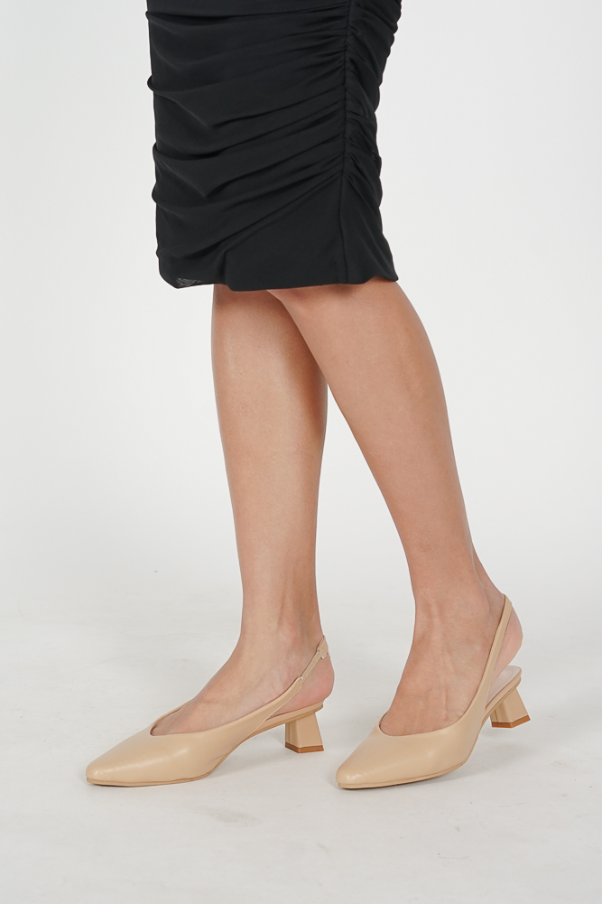Tali Pumps in Nude - Arriving Soon