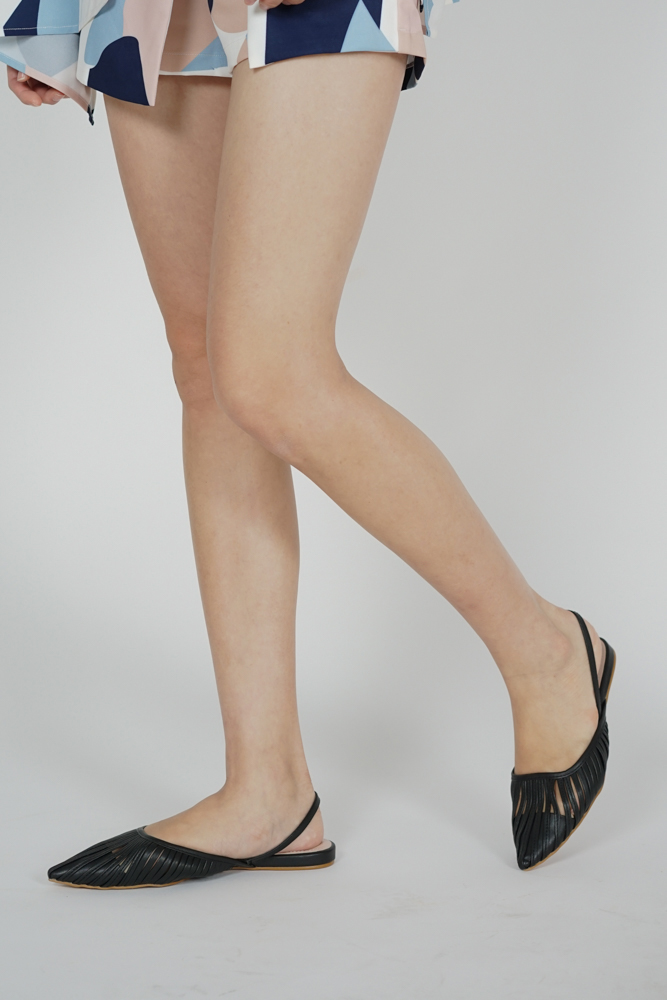 Verena Slingbacks in Black - Arriving Soon