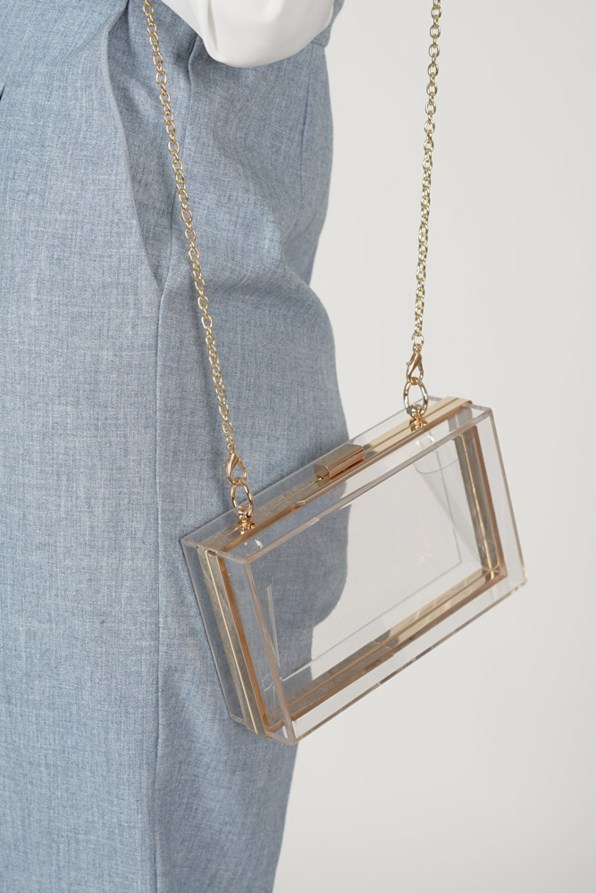 Karin Bag in Clear - Arriving Soon