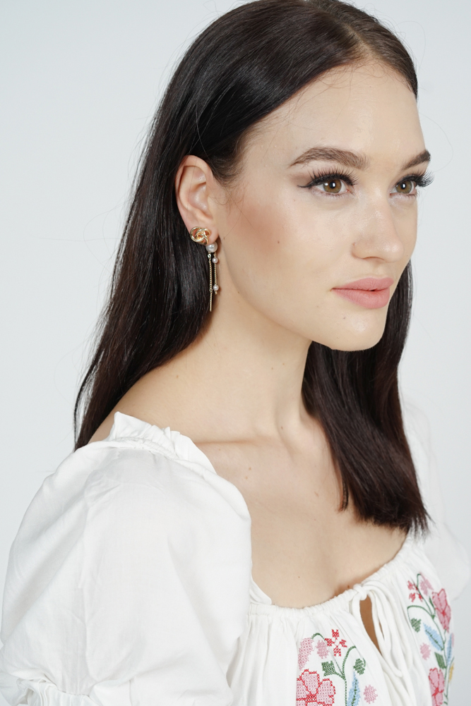 Jeska Asymmetrical Earrings - Arriving Soon