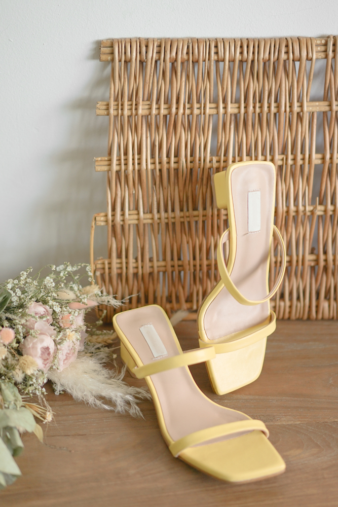 Samma Heels in Yellow - Arriving Soon
