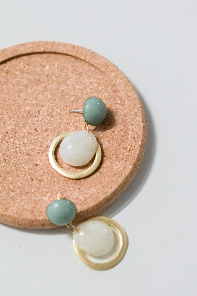 Shana Earrings in Dusty Blue - Arriving Soon