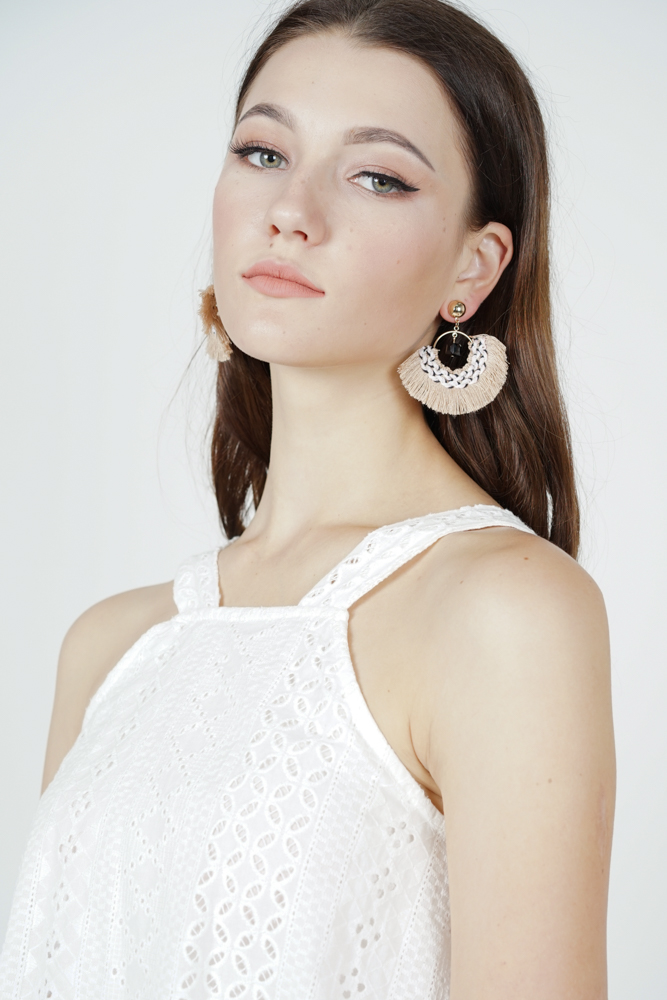 Fan Tassel Earrings  - Arriving Soon
