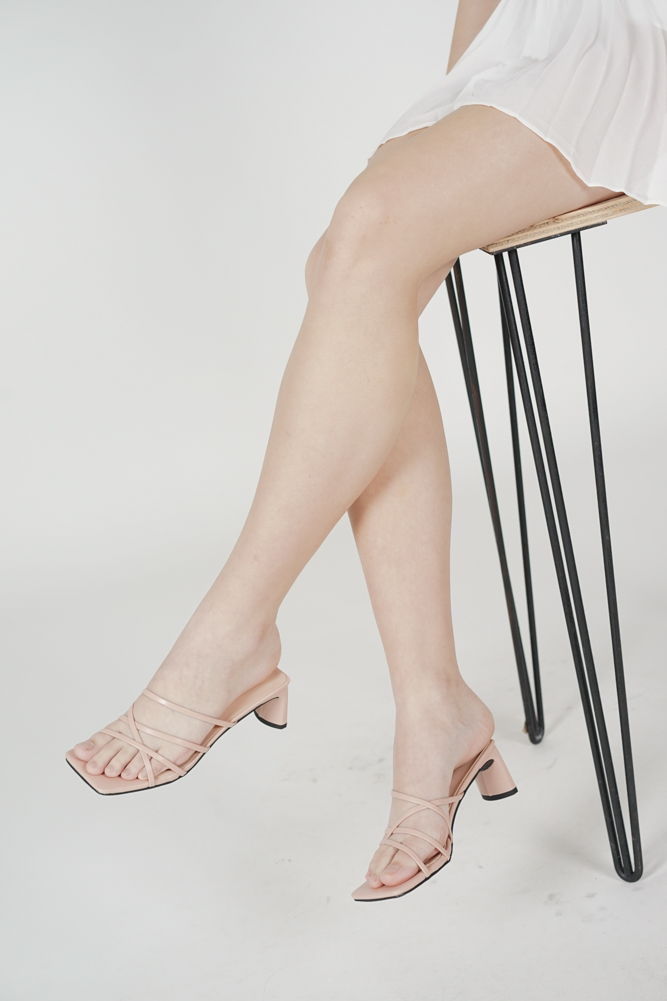 Birdine Heels in Light Pink - Arriving Soon
