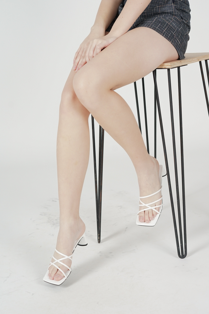 Birdine Heels in White - Arriving Soon
