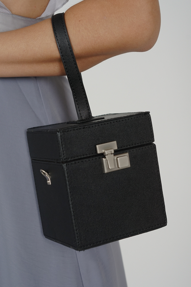 Jaydie Box Bag in Black - Arriving Soon