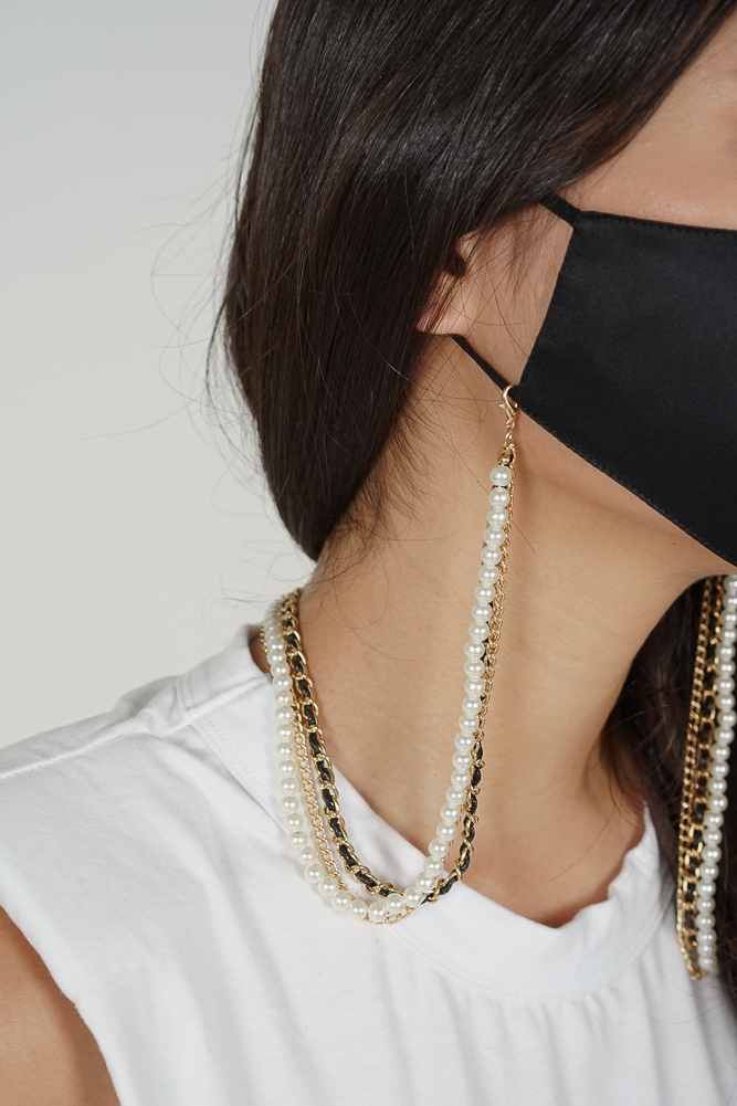 Yekara Mixed Mask Chain in Gold - Arriving Soon