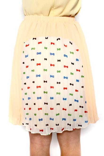 MDS Spring by the Wind Skirt in Beige