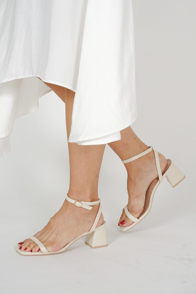 Nika Pumps in Ivory - Arriving Soon