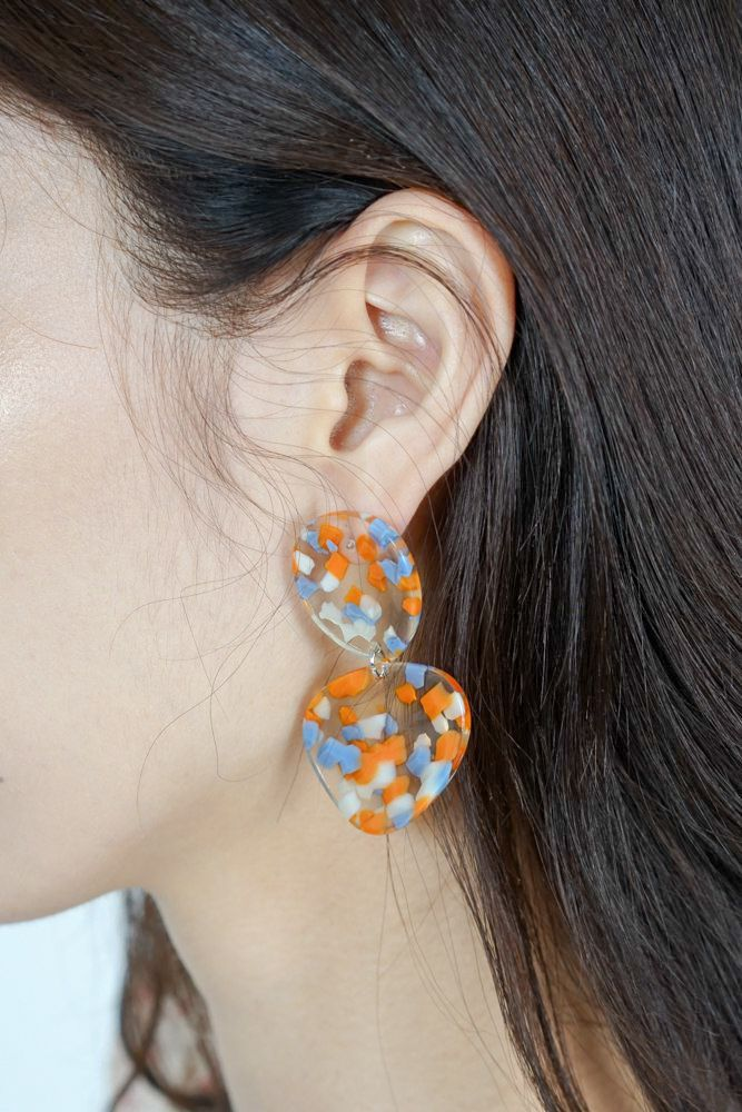 Kareo Resin Earrings - Arriving Soon