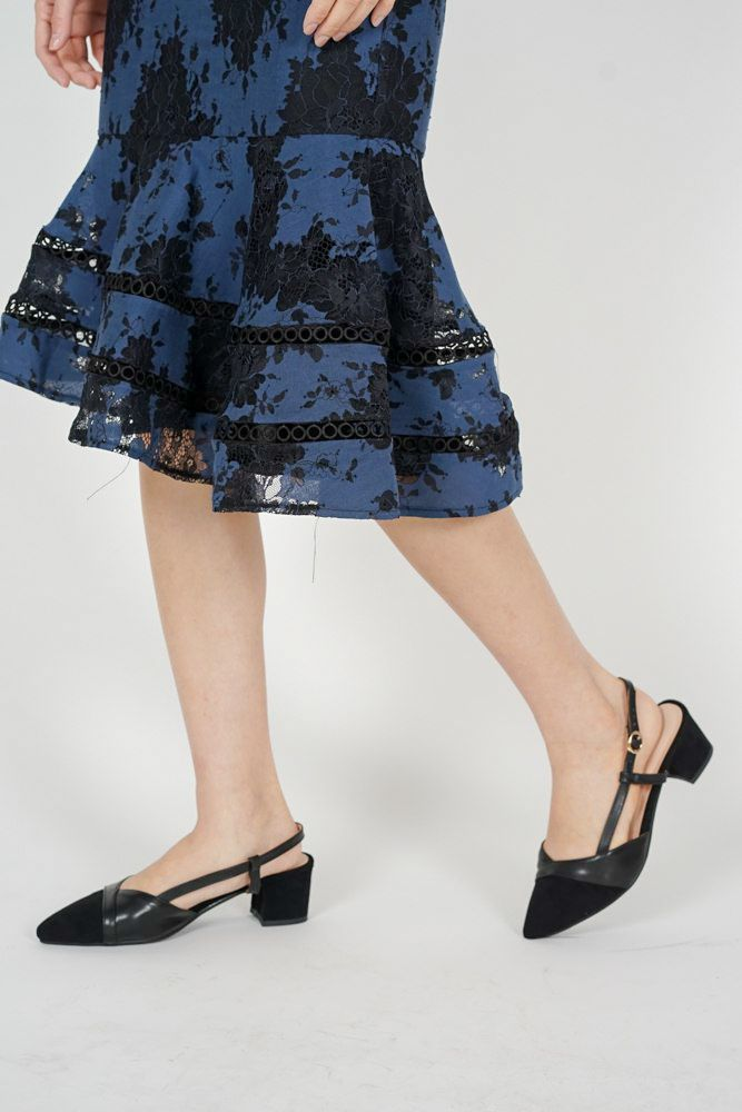 Taika Slingbacks in Black - Arriving Soon